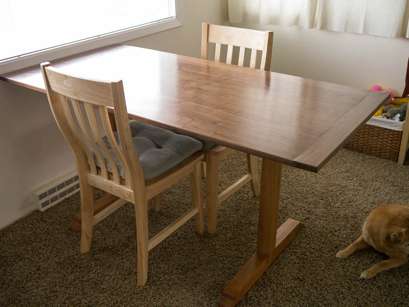 Build wooden dining room table plans woodworking 4 home for Reading table design